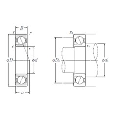 45 mm x 75 mm x 16 mm  NTN 5S-BNT009 Double Row Cylindrical Roller Bearings