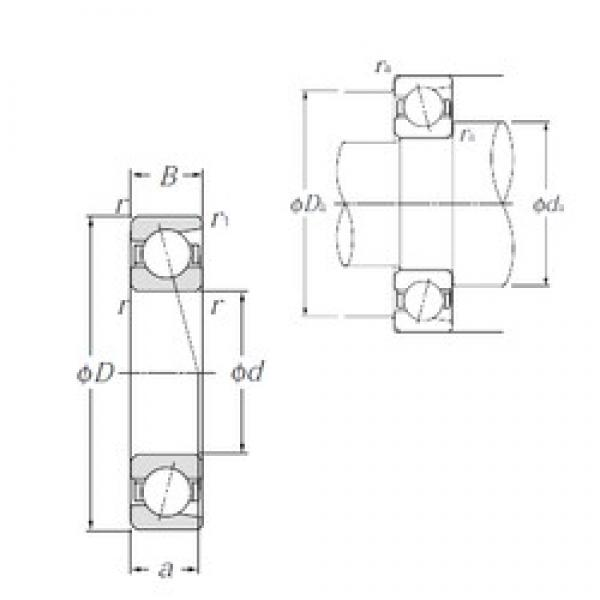 12 mm x 32 mm x 10 mm  NTN 7201C Reduced Torque from Optimized Design Precision Bearings #1 image